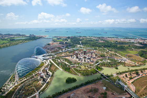 Cooled Conservatories at Gardens by the Bay de Wilkinson Eyre Architects | Musées