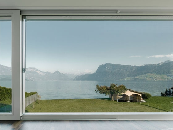 Villa M on Lake Lucerne by Niklaus Graber & Christoph Steiger Architekten | Detached houses