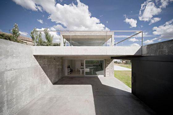 Rufo house by estudio arquitectura campo baeza - Casa campo baeza ...
