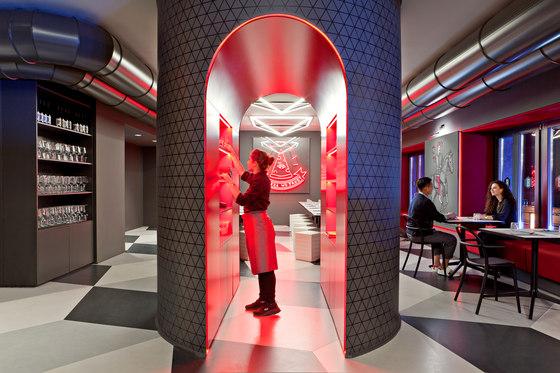 Briscola - Pizza Society by Fabio Novembre | Restaurant interiors