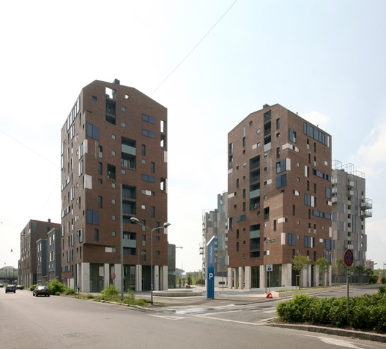 Edilizia residenziale convenzionata  a torre, Nuovo Portello by Cino Zucchi Architetti | Apartment blocks