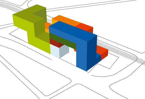 LA CITE DES AFFAIRES SAINT-ETIENNE di Manuelle Gautrand Architecture | Edifici amministrativi