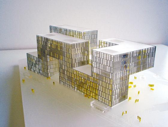 Manuelle Gautrand Architecture-LA CITE DES AFFAIRES SAINT-ETIENNE