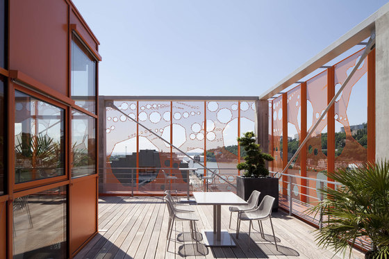 The Orange Cube de Jakob + MacFarlane | Edificio de Oficinas