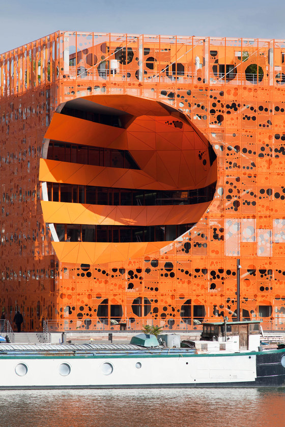 Jakob + MacFarlane-The Orange Cube