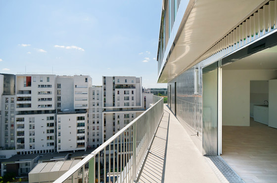 62 Council Flats - Villiot-Râpée de Hamonic+Masson & Associés | Immeubles