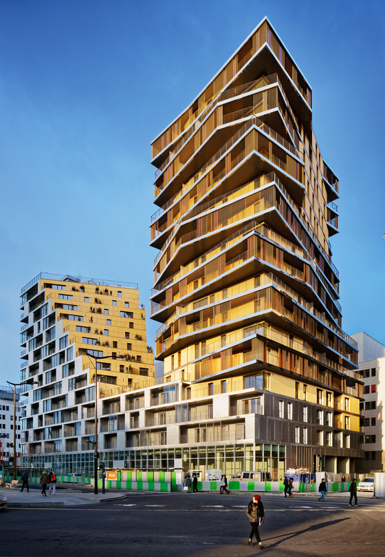 HOME, ZAC Masséna, Paris XIII by Hamonic+Masson & Associés ...