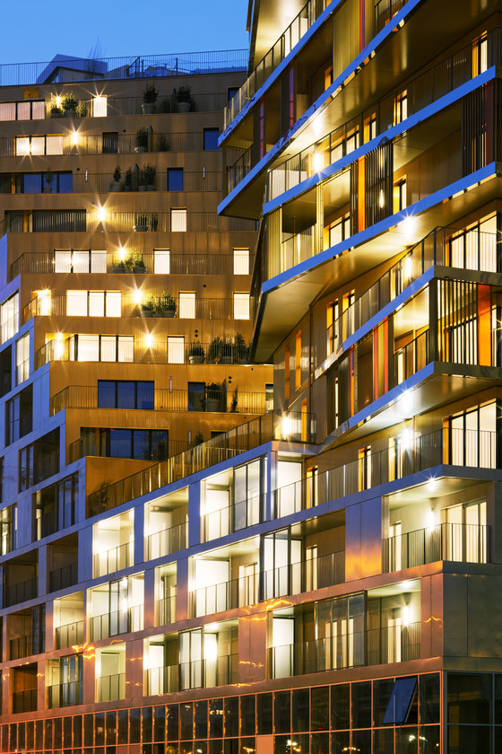 Batiment HOME, ZAC Masséna, Paris XIII by Hamonic+Masson & Associés | Apartment blocks