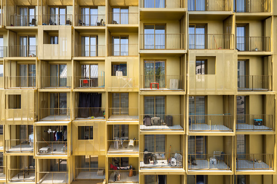 Golden Cube by Hamonic+Masson & Associés | Apartment blocks