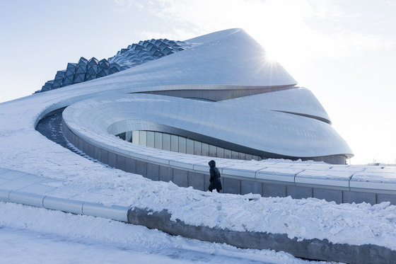 Harbin Opera House di MAD Architects | Auditorium