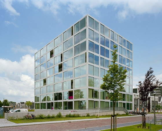 HipHouse Zwolle di Atelier Kempe Thill | Case plurifamiliari