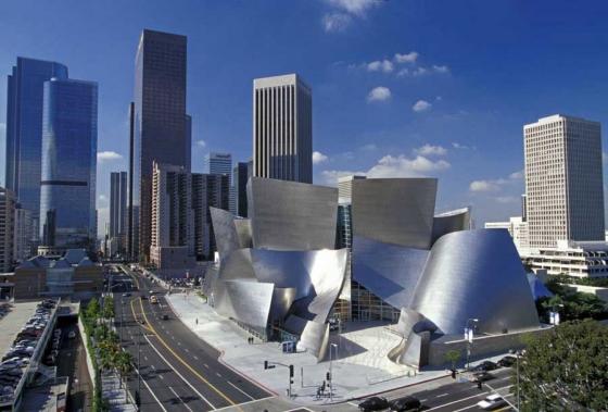 Walt Disney Concert Hall by Frank O. Gehry | Concert halls