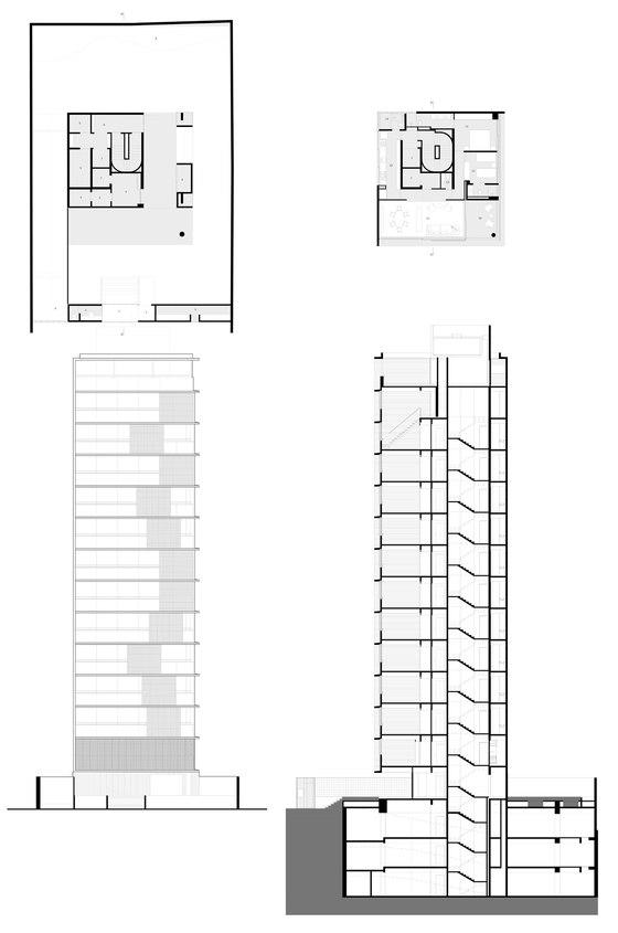 Vertical Itaim by studio mk27 | Apartment blocks