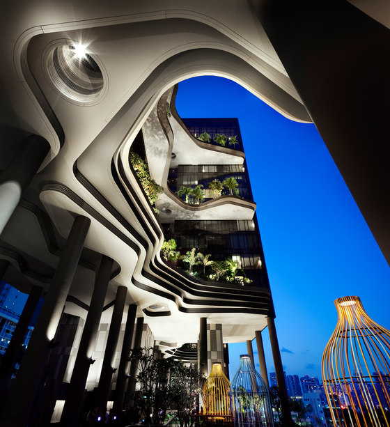 PARKROYAL on Pickering by WOHA   Hotels