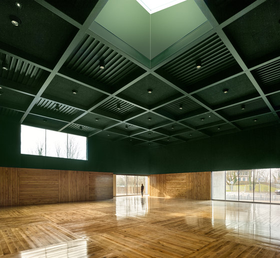 'Human Rights' sports centre in Strasbourg by Dominique Coulon & Associés | Sports arenas