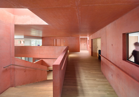 Housing for elderly people in Huningue by Dominique Coulon & Associés | Kindergartens / day nurseries
