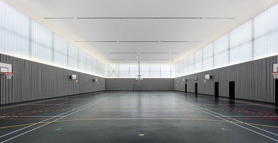 Sport hall clamart by dominique coulon associ s sports for Architecte clamart