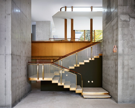 Vista interior da Casa Integral