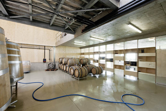 Winery of Claus Preisinger by propeller z | Shops