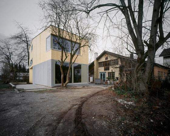 House Müller Gritsch de Andreas Fuhrimann  Gabrielle Hächler Architekten | Maisons particulières
