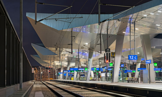 Vienna Central Station By Theo Hotz Partner Railway Stations