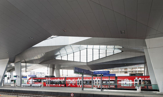Vienna Central Station by Theo Hotz Partner | Railway stations