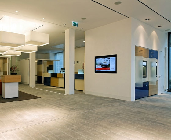 UBS Swiss Branch Redesign by Ralf Carl Nimmrichter | Office facilities