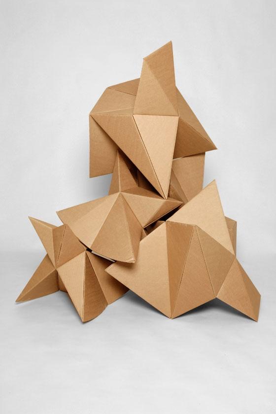 Foldschool - cardboard furniture for kids by Nicola Enrico Stäubli | Making-ofs