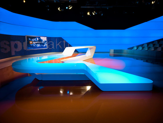 Studio Hannes Wettstein-A studio like a sports arena