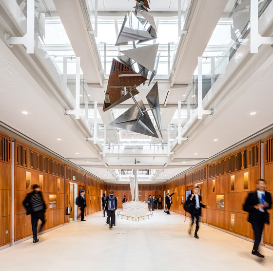 Dulwich College Laboratory by Grimshaw Architects | Universities