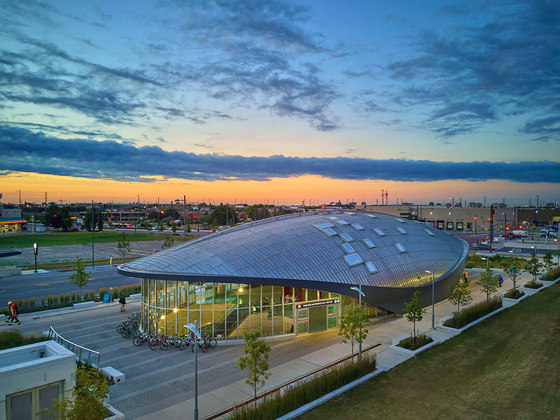 Vaughan Metropolitan Centre Subway Station by Grimshaw Architects | Infrastructure buildings