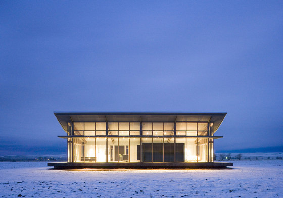 Glass Farmhouse by Olson Kundig Architects |