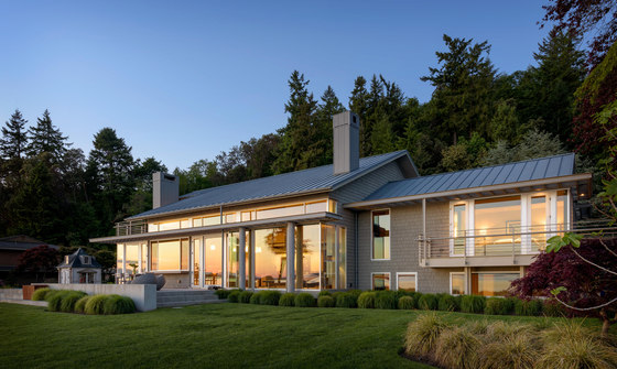 Fox Island Residence by Olson Kundig Architects | Detached houses