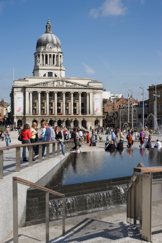 Old Market Square, Nottingham by Gustafson Porter | Public squares