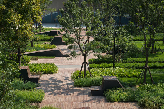 Beiqijia Technology Business District by Martha Schwartz Partners | Gardens