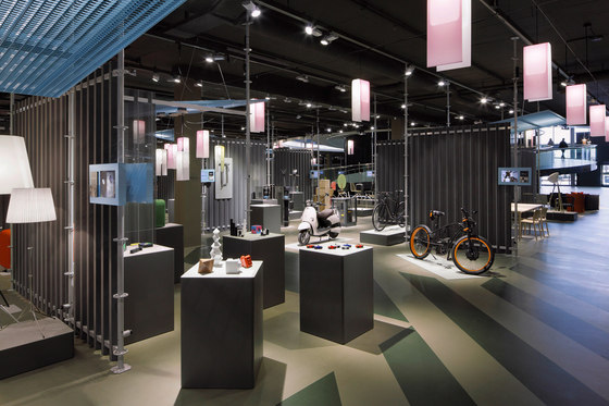 Conzept and layout of the dieForm exhibition at the stilhaus by Bureau Hindermann | Trade fair stands
