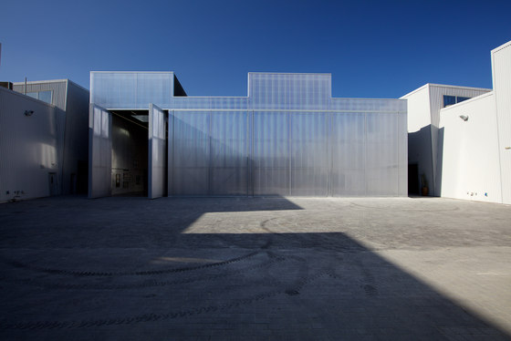 Concrete at Alserkal Avenue by OMA/AMO | Church architecture / community centres