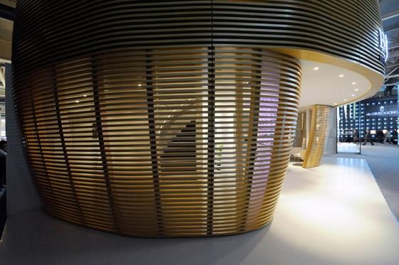 Studio Norguet-Messestand - Bertolucci at Baselworld trade fair