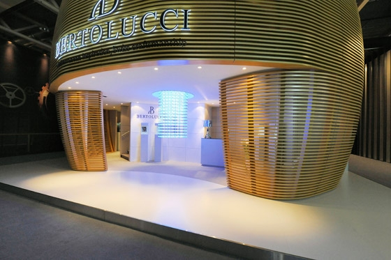 Messestand - Bertolucci at Baselworld trade fair by Patrick Norguet | Trade fair stands