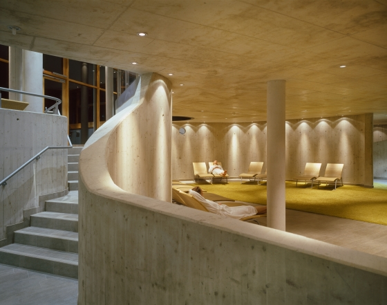 Römerbad Spa Baths by Behnisch Architekten | Therapy centres / spas