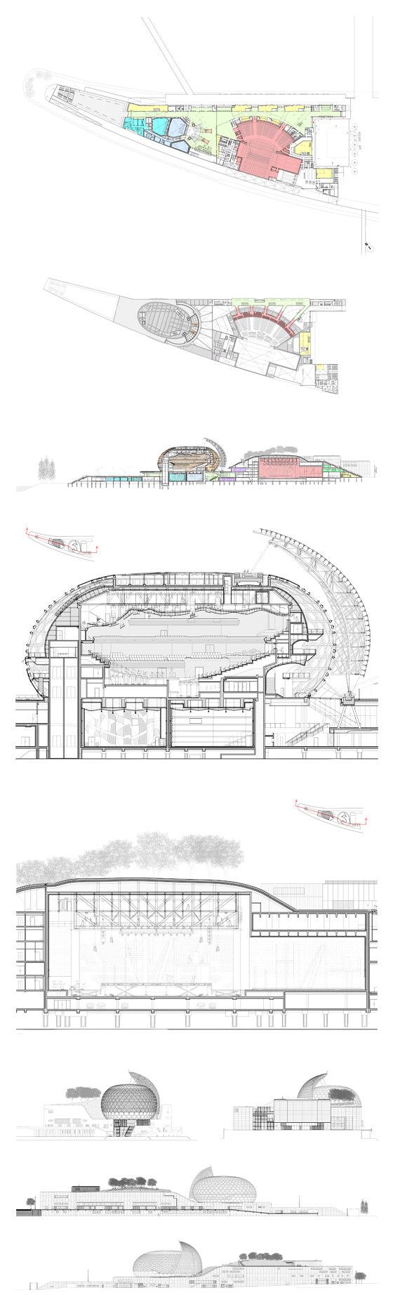 La Seine Musicale by Shigeru Ban Architects   Concert halls