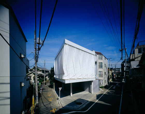 Curtain Wall House By Shigeru Ban Architects Detached Houses