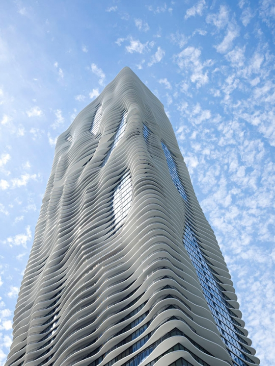 Aqua Tower de Studio Gang | Edificio de Oficinas