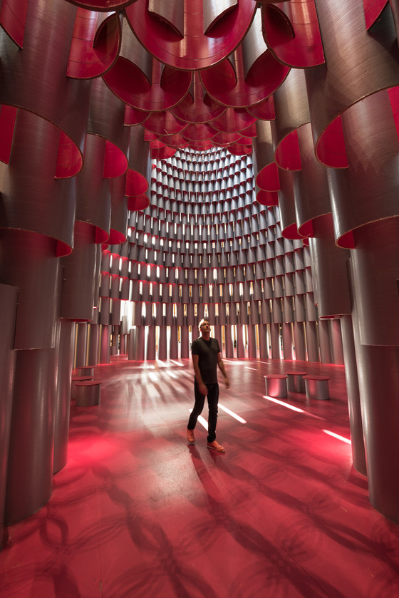 Hive - National Building Museum by Studio Gang | Installations