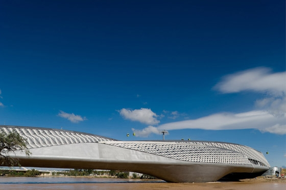 Zaragoza Bridge de Zaha Hadid Architects | Ponts