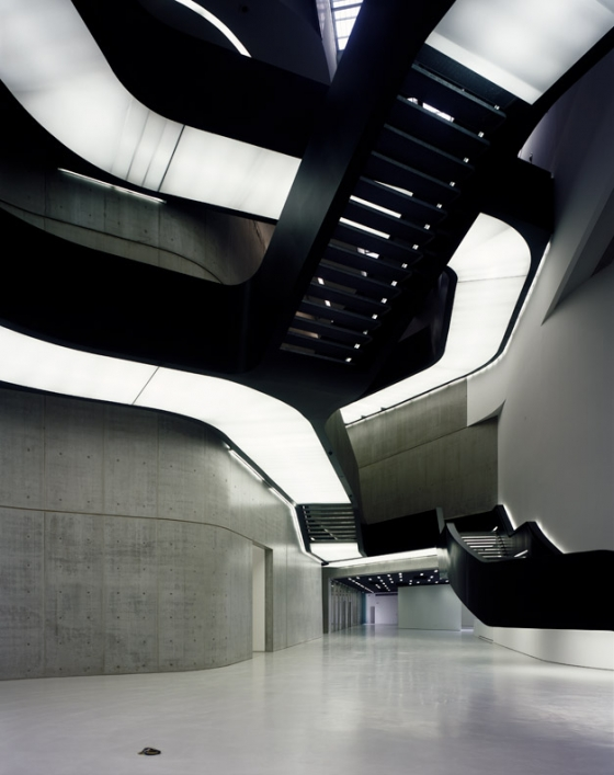 Zaha Hadid Architects-Contemporary Arts Centre 'MAXXI' Rome
