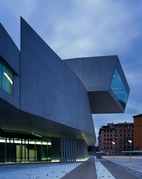 Contemporary Arts Centre 'MAXXI' Rome by Zaha Hadid | Museums