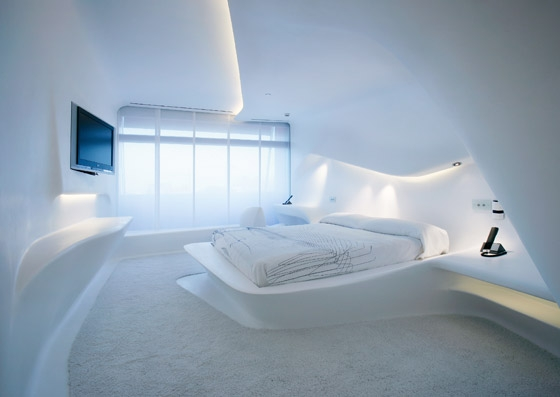 Hotel Puerta America, 1st Floor By Zaha Hadid Architects | Hotel Interiors