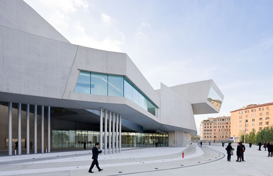 Contemporary Arts Centre 'MAXXI' Rome di Zaha Hadid Architects | Musei
