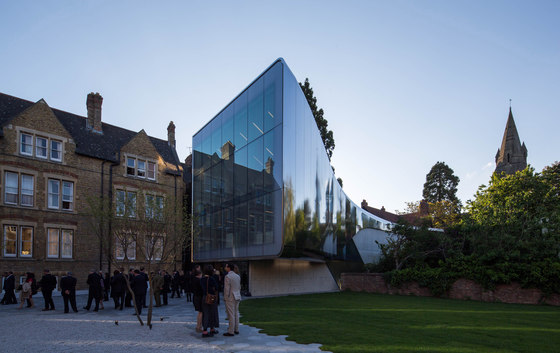 Investcorp Building for Oxford University's Middle East Centre at St Antony's College by Zaha Hadid Architects   Universities